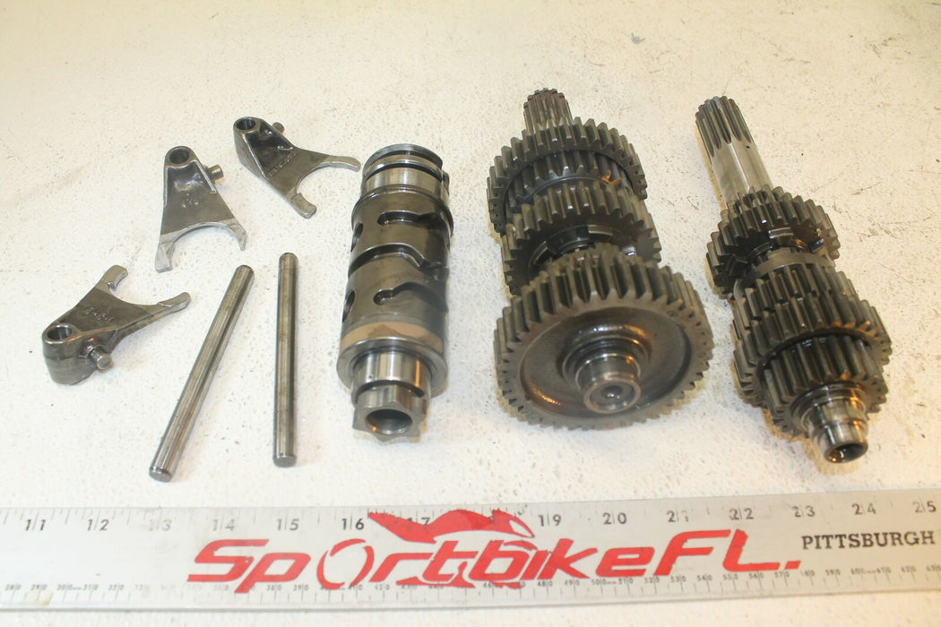 99-01 DUCATI MONSTER 750 DARK M-750 ENGINE MOTOR TRANSMISSION TRANNY GEARS SHAFT