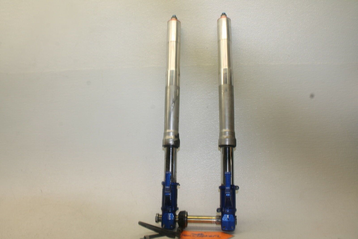 98-02 DUCATI 748 748S BIPOSTO OEM FRONT END FORKS SUSPENSION AXLE shocks 2002