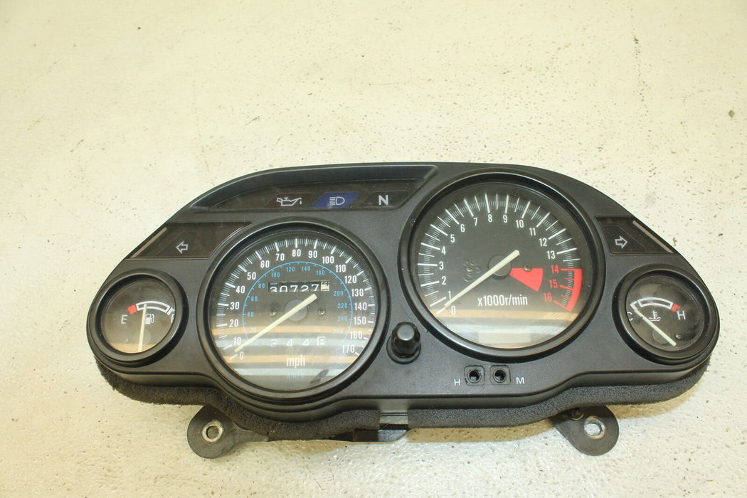 97-04 KAWASAKI NINJA ZX-6 ZX6 600 ZX600E SPEEDO TACH GAUGES DISPLAY CLUSTER 30K