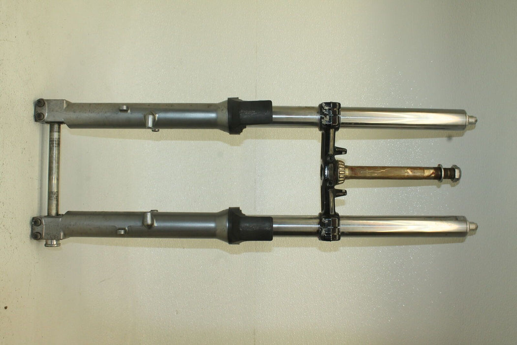 97-04 KAWASAKI NINJA ZX-6 ZX6 600 ZX600E COMPLETE FRONT END FORKS SUSPENSION 00