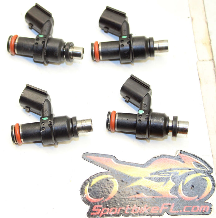 08-12 SUZUKI HAYABUSA GSXR 1300 GSX-R MAIN THROTTLE BODY FUEL INJECTOR OEM SET