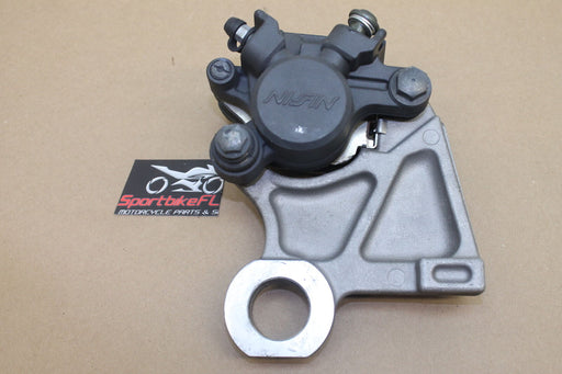 06-07 YAMAHA YZFR6 YZF R6 R6R REAR BACK BRAKE CALIPER BRACKET 2C0-2580W-00-00