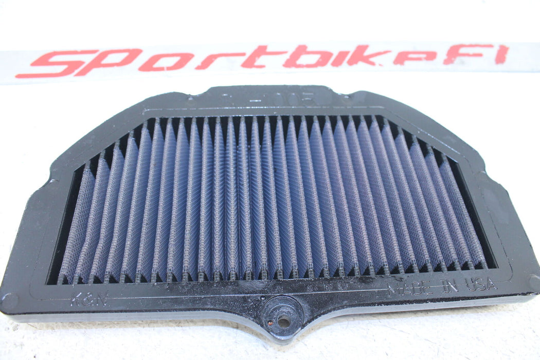 05-08 SUZUKI GSXR 1000 GSX-R AIRBOX AIR INTAKE FILTER KN REUSABLE PERFORMANCE