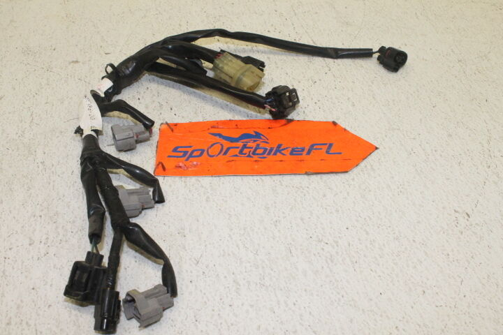 05 YAMAHA YZF R6 R-6 OEM THROTTLE BODY FUEL INJECTOR WIRING HARNESS WIRE LOOM 05