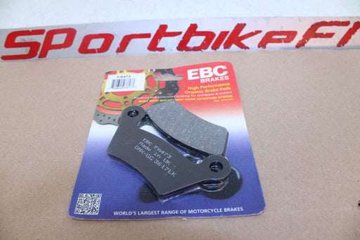 08-12 CAN-AM SPYDER RS RT REAR CALIPER BRAKE PAD MODULE HIGH PERFORMANCE EBC NEW