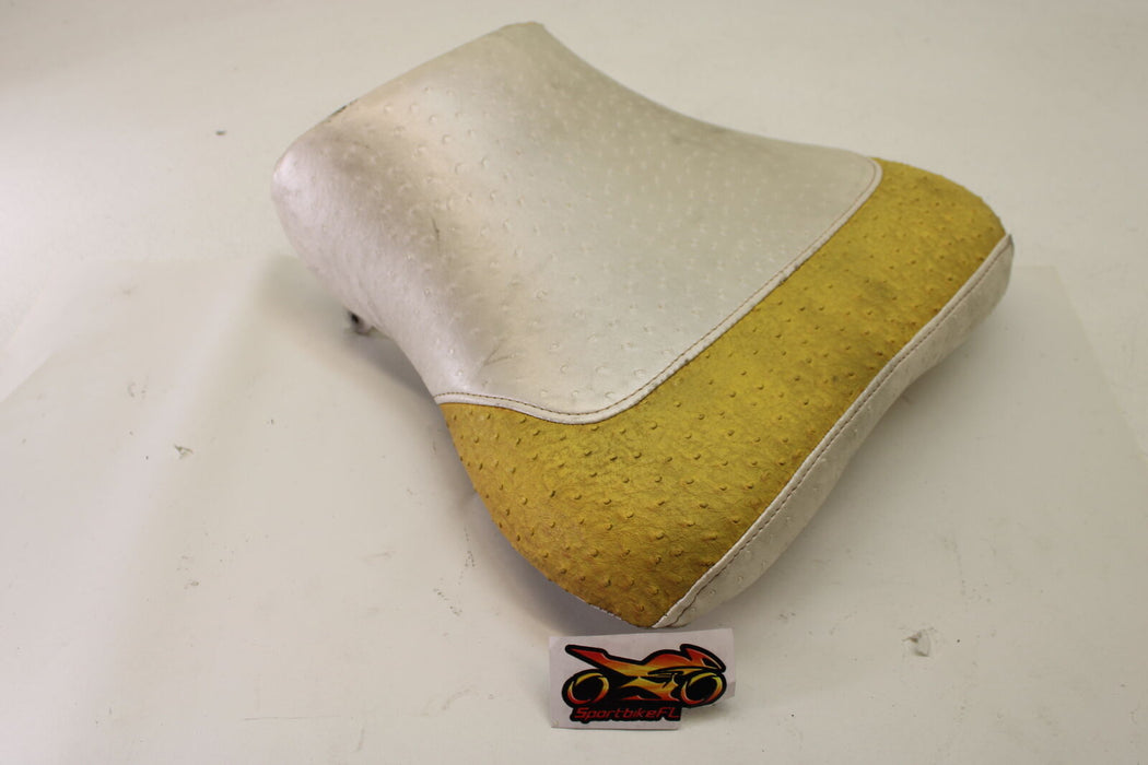 03-04 SUZUKI GSX-R 1000 GSXR FRONT DRIVERS SEAT PAD SADDLE PILLION REST CUSHION