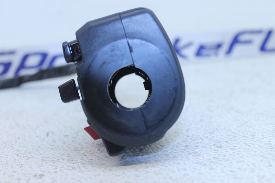 09-11 KAWASAKI NINJA 650R EX 650 LEFT CLIP ON HANDLE HORN SIGNALS SWITCH