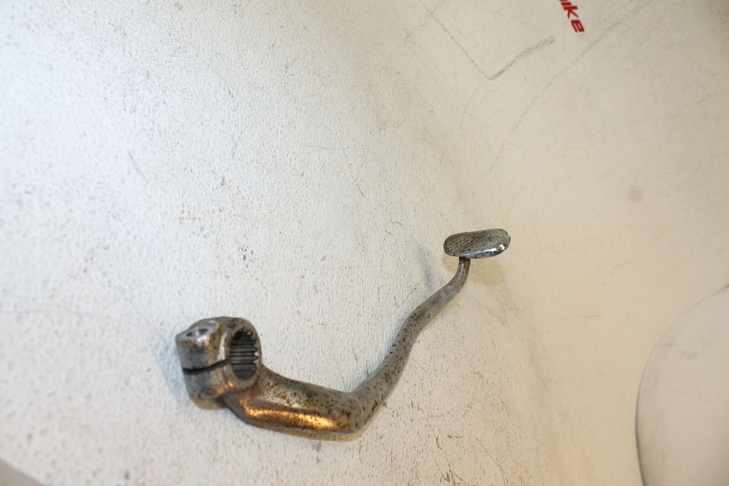 81-83 SUZUKI GS650G GS 650 RIGHT REARSET BRAKE FOOT PEDAL CHROME ARM LEVER OEM