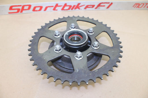 06-08 KAWASAKI NINJA 650R EX650 ZX10R 04-07 REAR SPROCKET BACK WHEEL HUB OEM