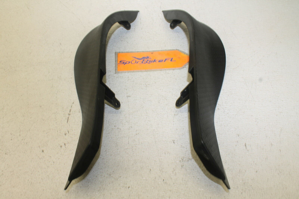 07-08 KAWASAKI NINJA ZX6R ZX 600 ZX6 OEM RIGHT LEFT INNER FAIRINGS COWLS PANELS