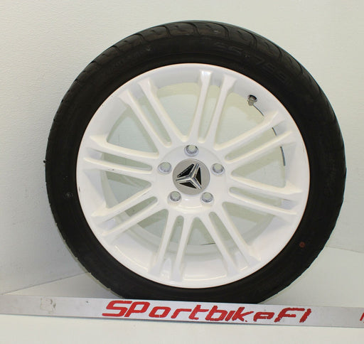 15-16 POLARIS SLINGSHOT FRONT WHEEL CAST 17x7.00 RIM TIRE 205/50-17 SLING SHOT