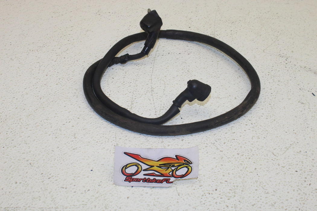 1986 HONDA GOLDWING 1200 NEGATIVE BATTERY CABLE GROUND WIRE ELECTRIC SYSTEM OEM