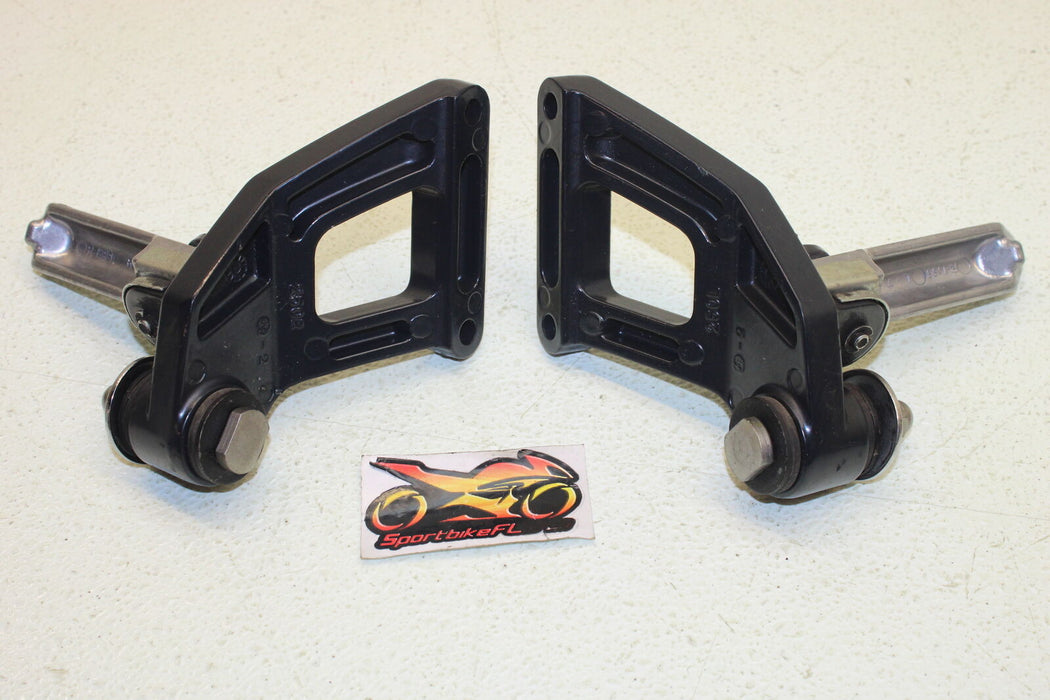 97-02 KAWASAKI NINJA ZX-6 ZX6 600 ZX600 REAR BACK PASSENGER PEG SET PAIR FOOT
