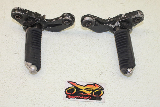 88-97 SUZUKI KATANA GSX 600 GSX600F FRONT FOOT RESTS PEGS STEPS SET PAIR OEM
