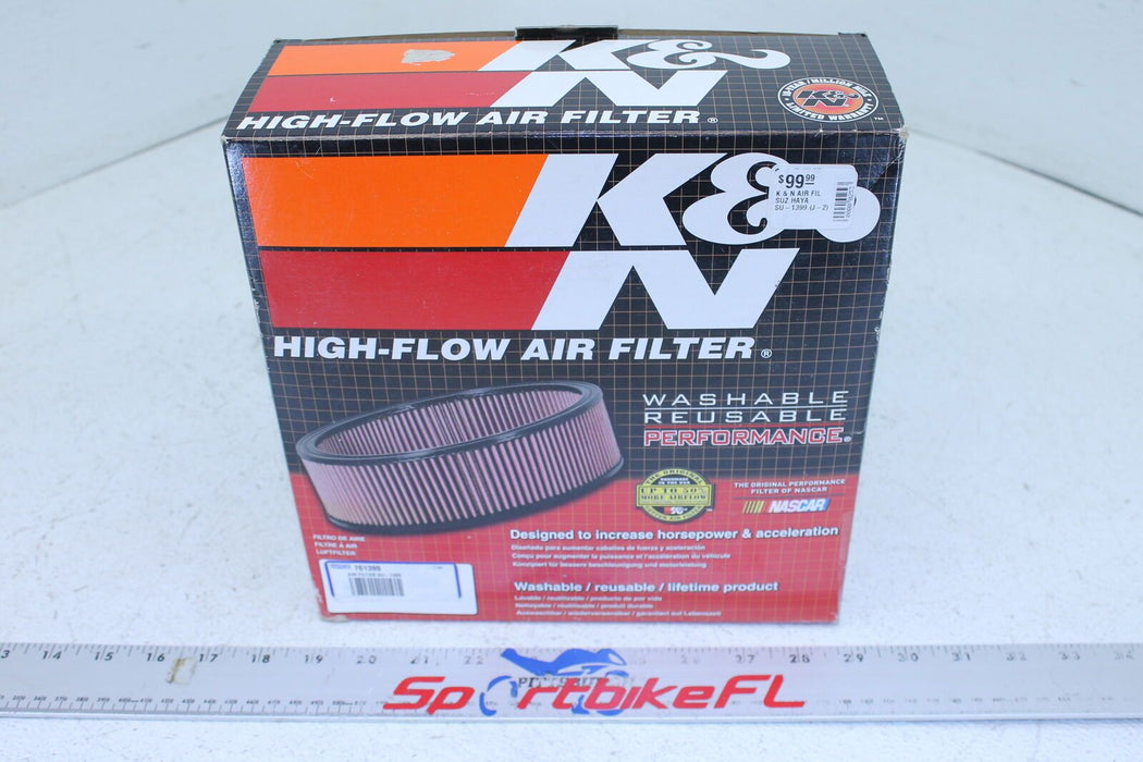 99-07 SUZUKI HAYABUSA GSXR 1300 GSX-R K&N SU-1399 AIRBOX AIR FILTER HIGH-FLOW