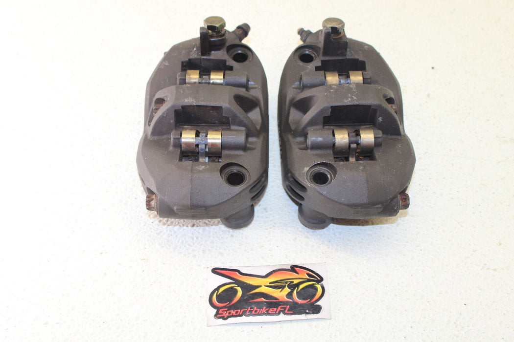 06-07 KAWASAKI NINJA ZX-14 ZX14 RIGHT LEFT FRONT BRAKE CALIPER SET PAIR CALIPERS