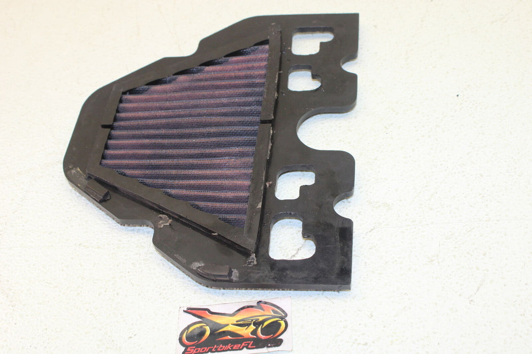 97-02 KAWASAKI NINJA ZX-6 ZX6 600 ZX600 AIRBOX AIR INTAKE FILTER AIR FLOW