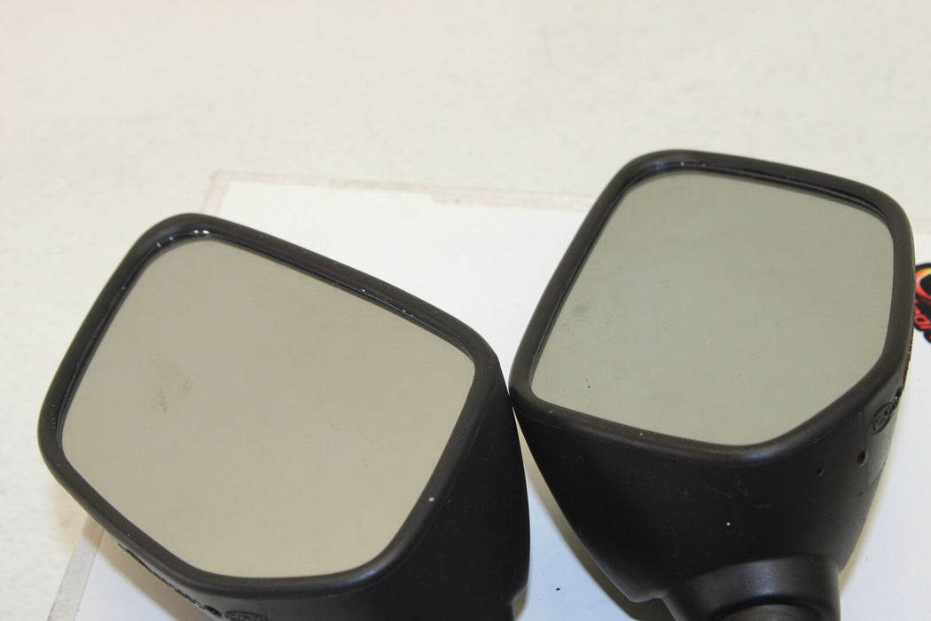 15-17 YAMAHA YZF R3 YZFR3 YZF-R3 REAR VIEW MIRROR SET PAIR MIRRORS REFLECTION