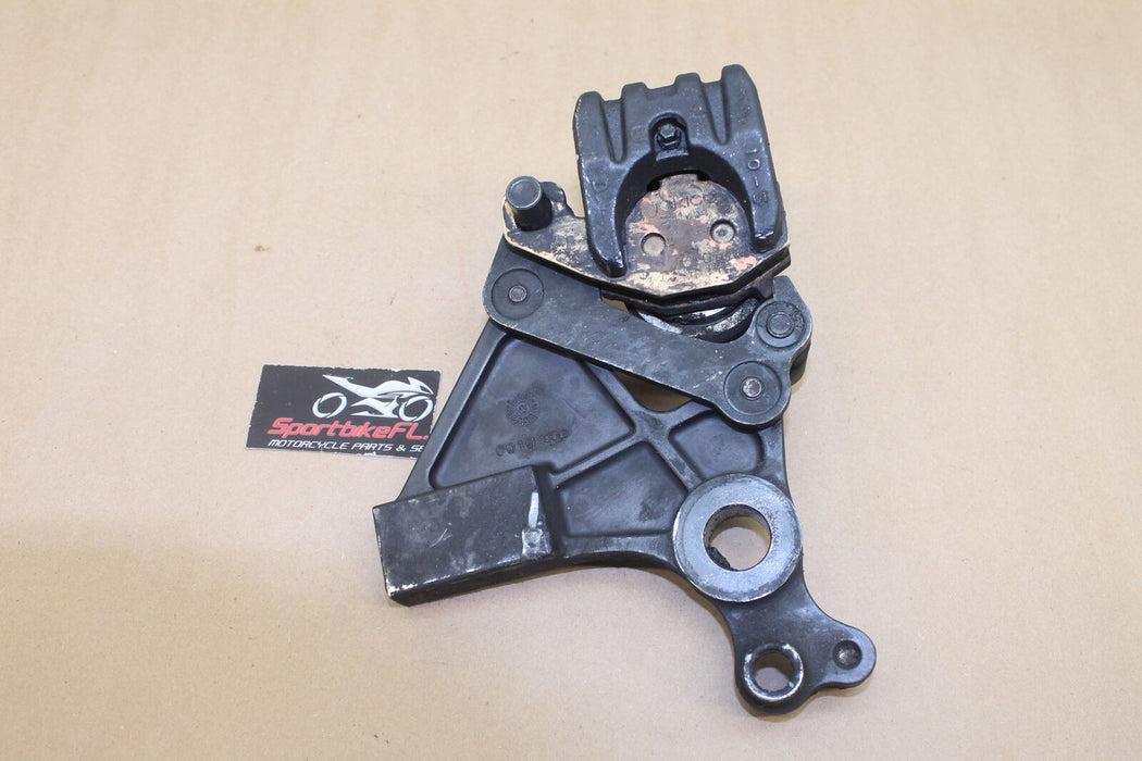 13-15 KAWASAKI NINJA 650 EX650 REAR BACK BRAKE CALIPER BRACKET PADS