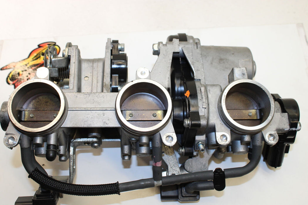 14-16 YAMAHA FZ09 FZ 09 FZ9 MAIN FUEL INJECTORS THROTTLE BODIES GAS GASOLINE OEM