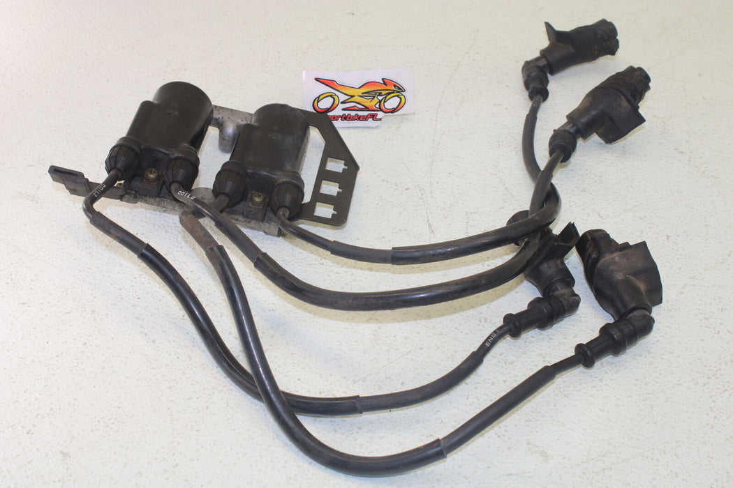 1986 HONDA GOLDWING 1200 IGNITION COILS CAPS WIRE CABLES OEM ELECTRIC SPARK PLUG
