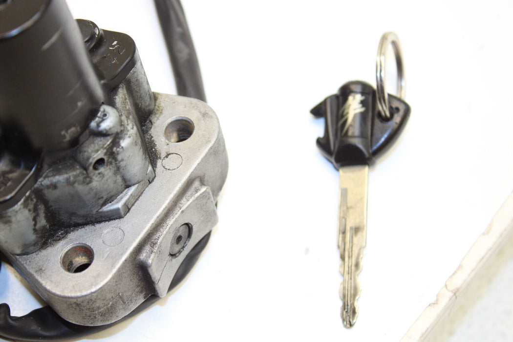 08-12 SUZUKI HAYABUSA GSXR 1300 GSX-R IGNITION LOCK KEY REAR LOCKING OEM START