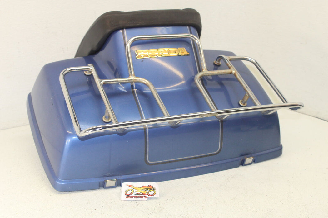 1986 HONDA GOLDWING 1200 REAR BACK TRUNK COMPARTMENT TOP RACK SEAT OEM LUGGAGE