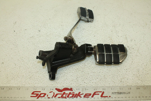 01-02 SUZUKI INTRUDER VOLUSIA 800 VL800 RIGHT REARSET BRAKE FOOT PEDAL PEG REST