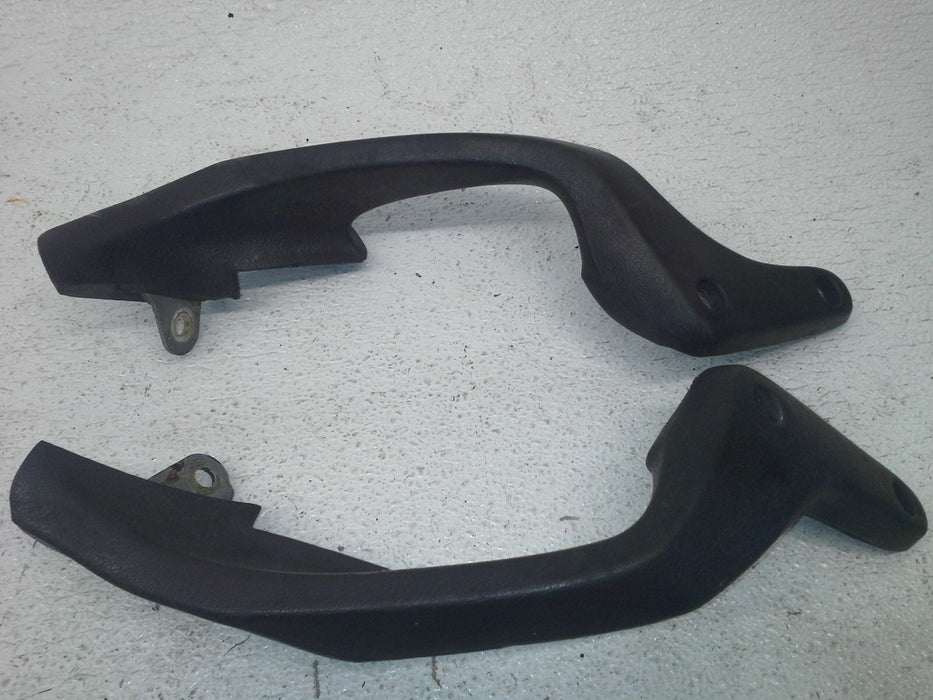 92-95 HONDA ST1100 ST 1100A PASSENGER REAR SEAT GRAB BAR HANDLE SET PAIR SISSY