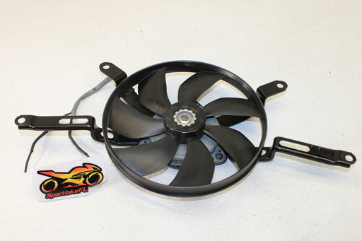 14-16 YAMAHA FZ09 FZ 09 FZ9 ENGINE RADIATOR COOLING FAN COOL SYSTEM OEM COOLDOWN