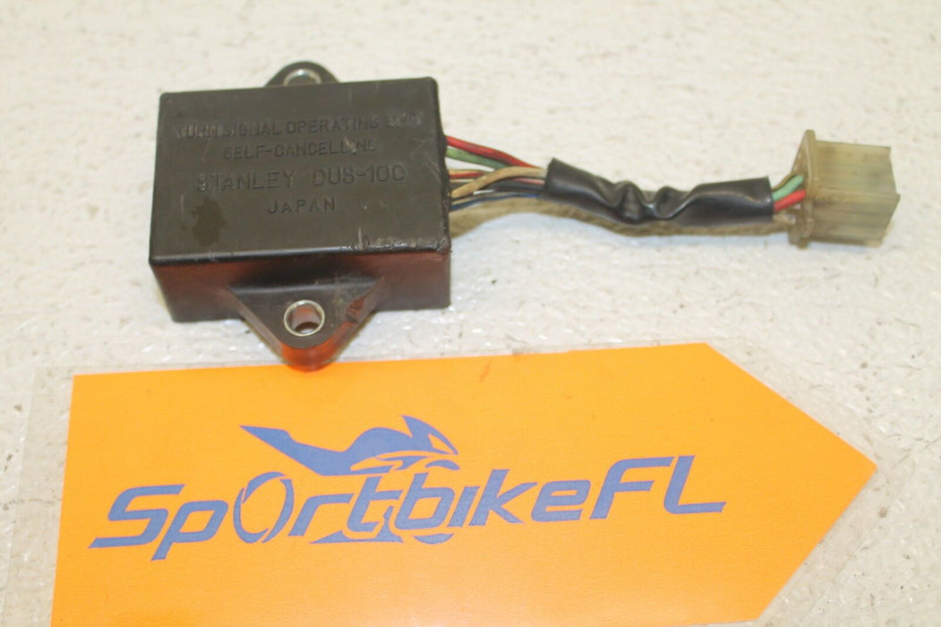83 KAWASAKI KZ750N SPECTRE N2 KZ-750 OEM TURN SIGNAL RELAY ASSEMBLY FUSE BOX