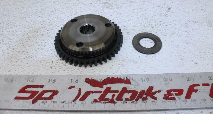 07-08 SUZUKI GSXR 1000 GSX-R ENGINE MOTOR IDLER IDLING GEAR ONE WAY STARTING OEM