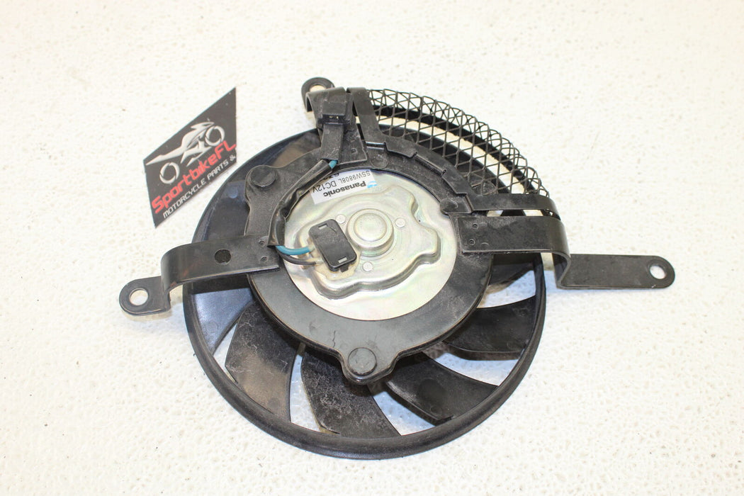 06-07 SUZUKI GSXR 600 GSX-R 750 ENGINE RADIATOR COOLING FAN MOTOR ASSEMBLY OEM
