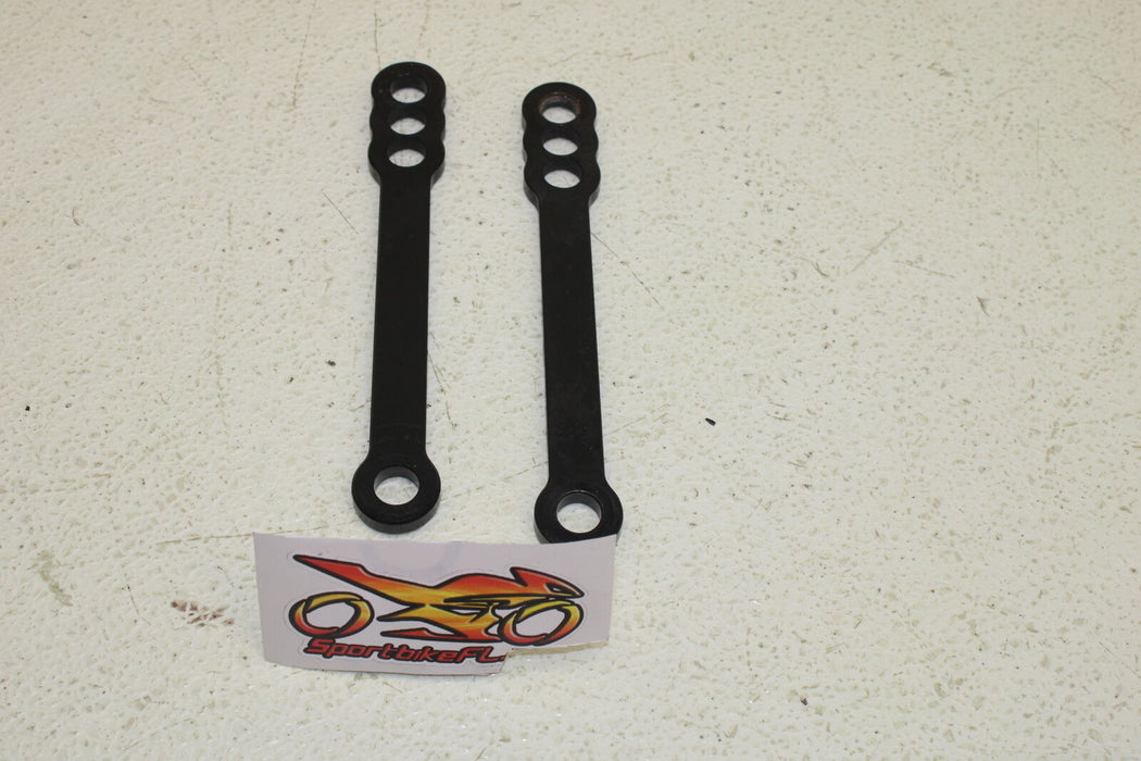 08-20 SUZUKI HAYABUSA GSXR 1300 GSX-R REAR SHOCK LOWERING LINKAGE LINKS LOWER
