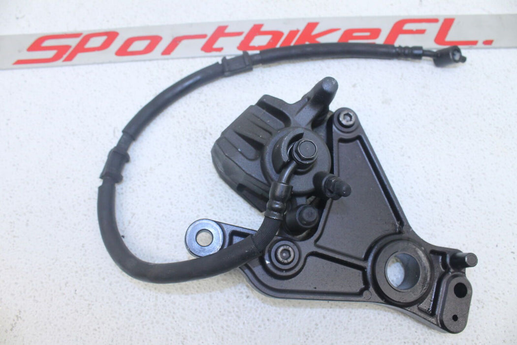11-13 KAWASAKI NINJA ZX1000 ZX 1000 REAR BRAKE CALIPER MOUNT BRACKET BACK LINE
