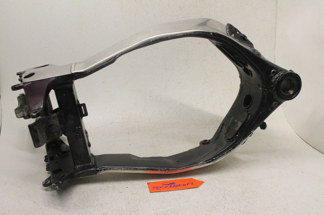 96-03 KAWASAKI NINJA ZX7R ZX7 ZX 750 CHASSIS FL CERT OF DESTRUCTION 2003