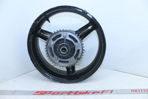 01-03 SUZUKI GSXR 600 GSX-R 750 REAR WHEEL BACK RIM SPROCKET 525 OEM 5.50x17