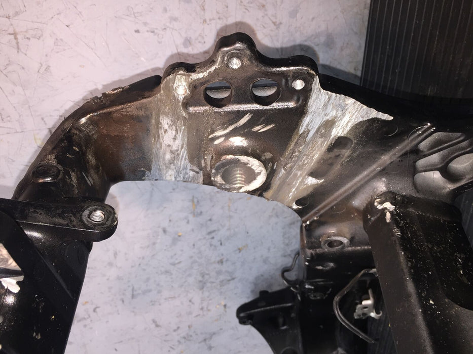 2008 SUZUKI HAYABUSA GSX-R 1300 FRAME CHASSIS FOR TRACK OR STUNT ONLY total loss