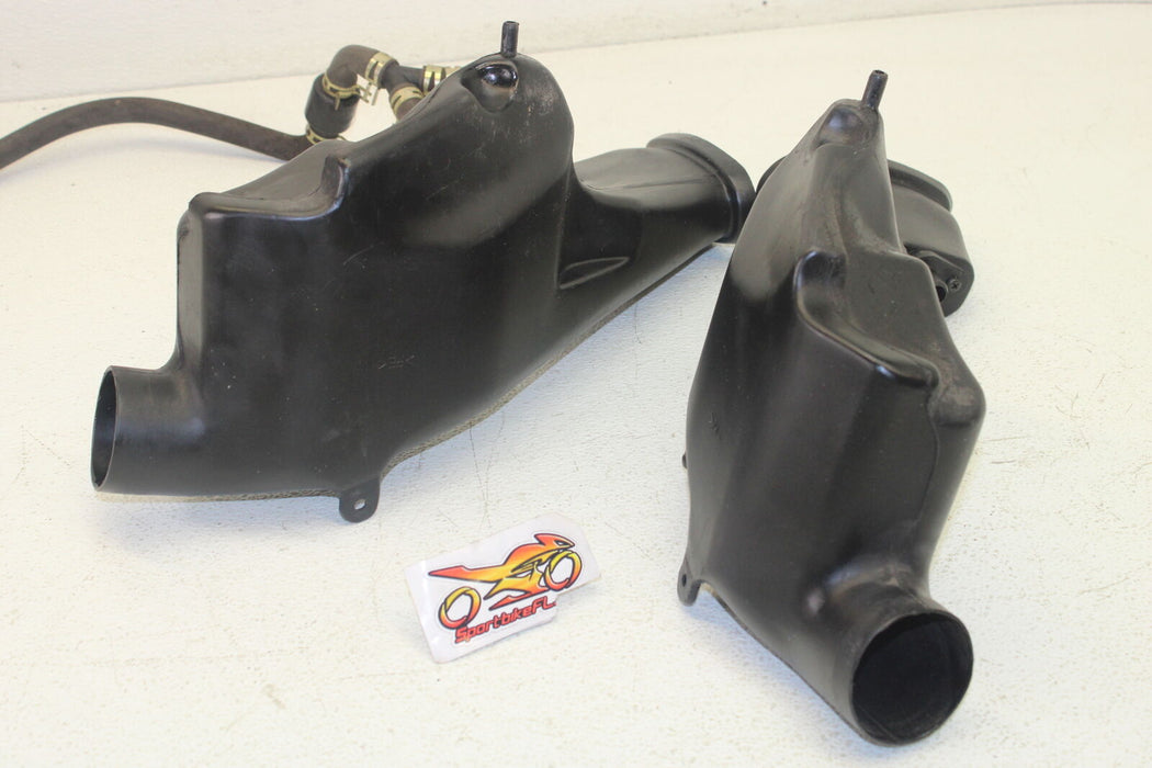 95-01 KAWASAKI NINJA ZX11 ZX1100 ZX-11 RIGHT LEFT AIR INTAKE DUCTS HIGH FLOW OEM