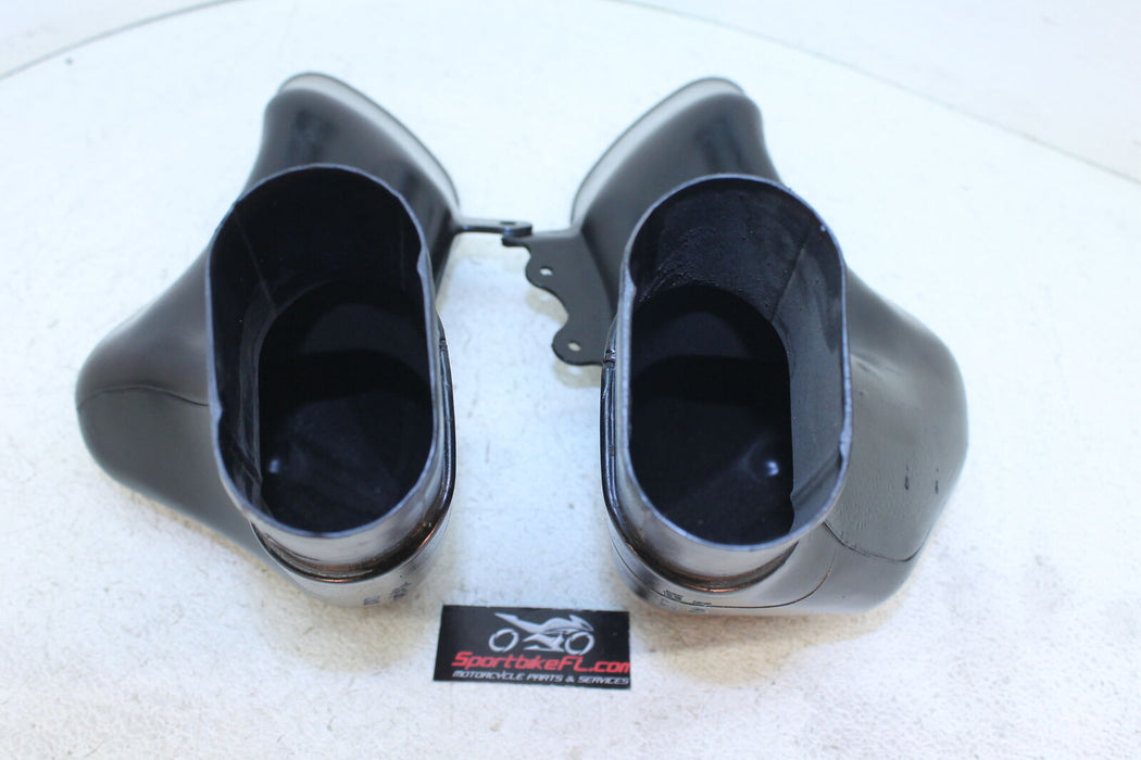 99-07 SUZUKI HAYABUSA GSXR 1300 GSX-R OEM RAM AIR INTAKE TUBES DUCT LEFT RIGHT