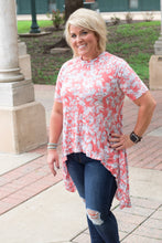 Load image into Gallery viewer, Mia Floral Hi-Low Tunic