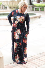 Load image into Gallery viewer, Grace Floral Maxi Dress