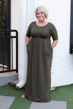 Load image into Gallery viewer, Lola Round Neck Maxi Dress