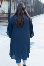 Load image into Gallery viewer, Leah Long Sleeve Kimono-Curvy