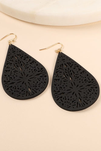 Delilah Laser Cut Earrings