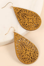Load image into Gallery viewer, Delilah Laser Cut Earrings