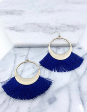 Load image into Gallery viewer, Phoebe Tassel Statement Earrings
