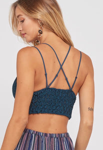 Jamie Scalloped Edge Lace Bralette