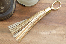 Load image into Gallery viewer, Leather Tassel Key Chain