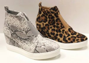 Zoe Wedge Sneakers